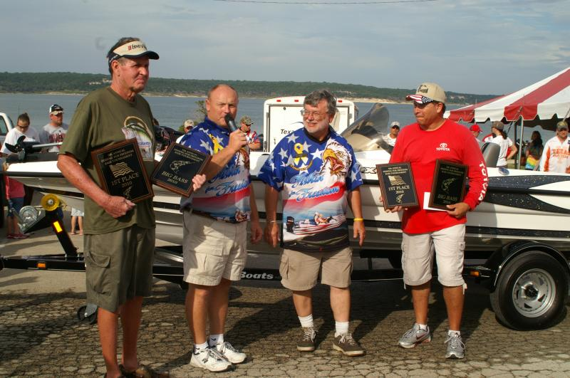 Fishing for Freedom Bass Tournament Lake Belton